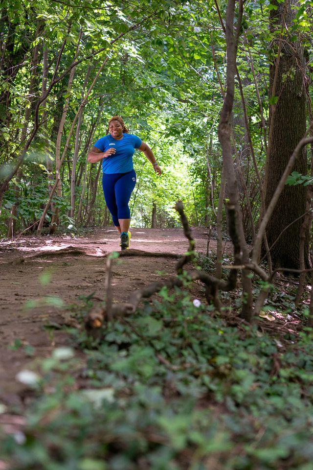 latoya shauntay snell the running fat chef hoka one one runners alliance runner's world women's health