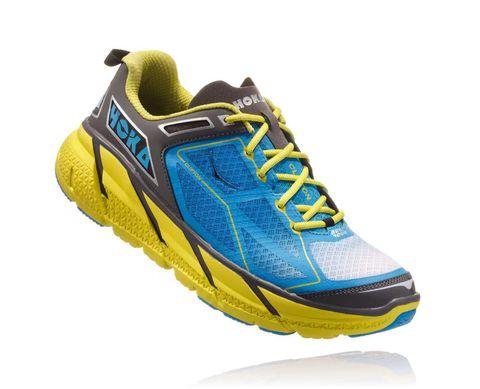 Shoe, Footwear, Outdoor shoe, Running shoe, Yellow, Walking shoe, Blue, Turquoise, Aqua, Electric blue,