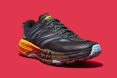 Footwear, Shoe, Orange, Athletic shoe, Running shoe, Outdoor shoe, Sneakers, Walking shoe,