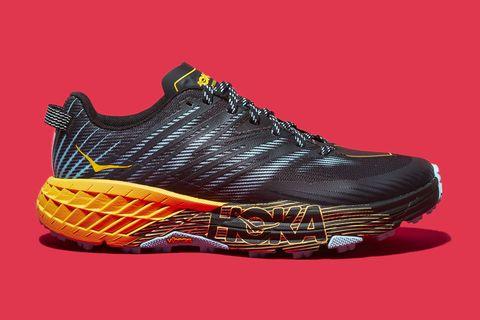 Footwear, Shoe, Running shoe, Orange, Outdoor shoe, Walking shoe, Yellow, Athletic shoe, Sneakers, Basketball shoe,