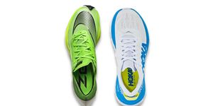 hoka carbon x vs next %