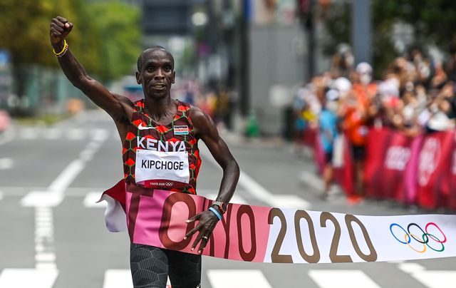 eliud kipchoge, maraton, juegos olimpicos de tokio