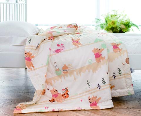 Pink, Bedding, Textile, Bed sheet, Furniture, Linens, Floor, Room, Plant, Flower,