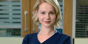 Amy Lennox as Chloe Godard in Holby City