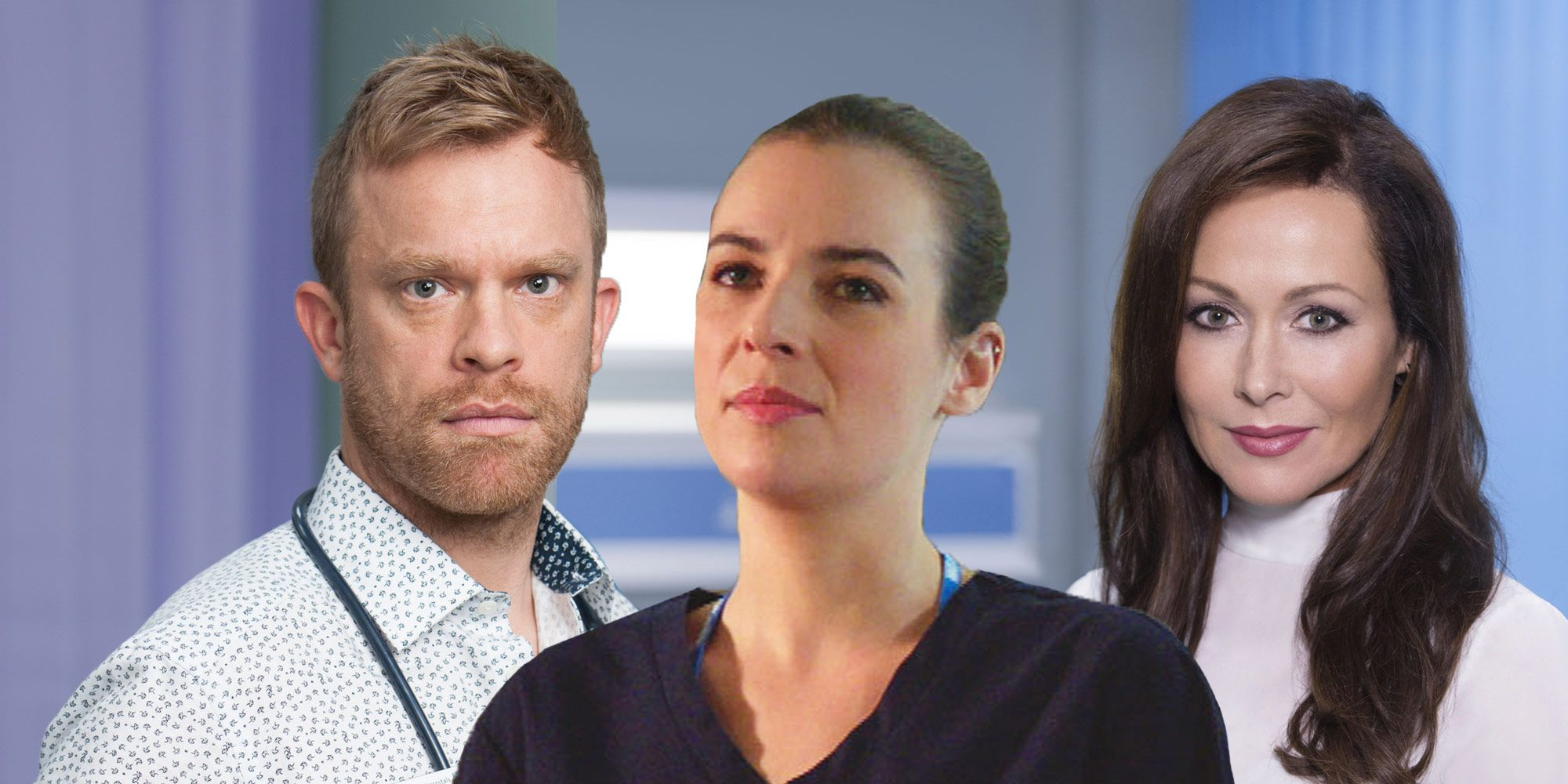Casualty and Holby City, Connie Beauchamp, Dylan Keogh, Zosia March