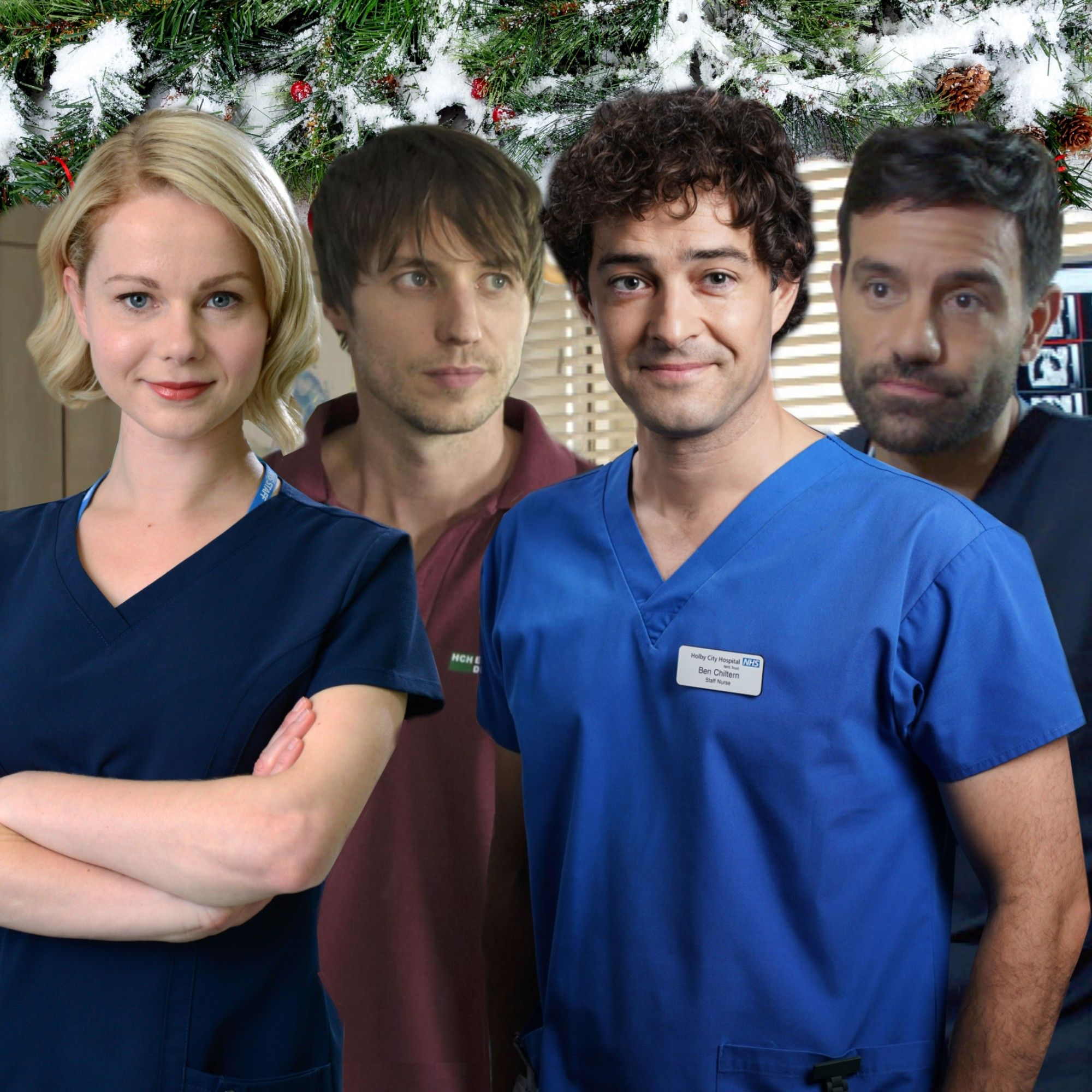 12 huge Holby City Christmas spoilers revealed as Lofty leaves and Casualty's Max and Robyn crossover