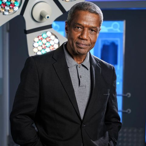 hugh quarshie as ric griffin in holby city