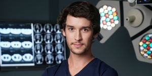 Nic Jackman as Cameron Dunn in Holby City