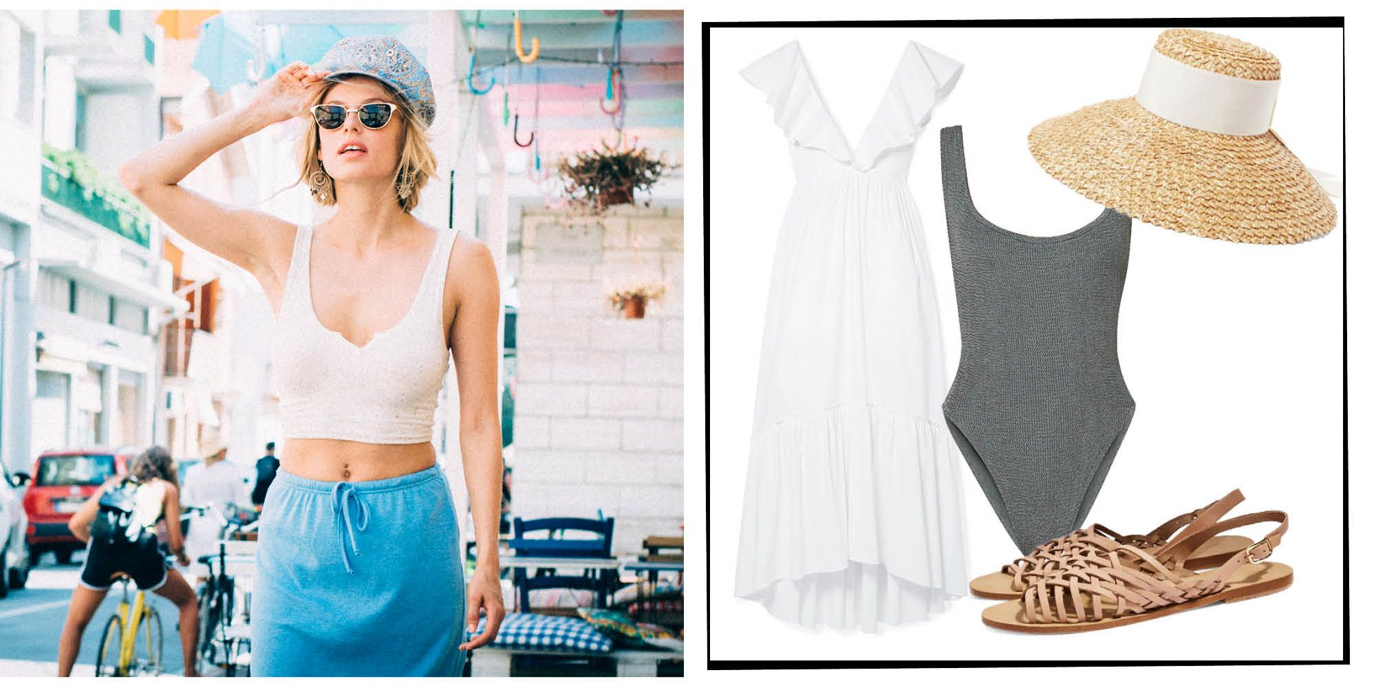 An indispensable item of summer wardrobe - white shorts. What to wear and how to combine them with other things 85