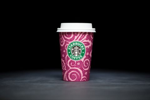 Starbucks holiday cups over the years