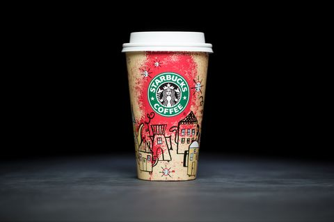 Starbucks Christmas Coffee Cups.Starbucks Holiday Cups Over The Years Every Single