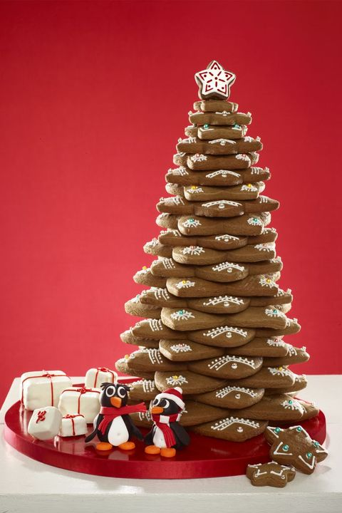 holiday food gifts - gingerbread tree