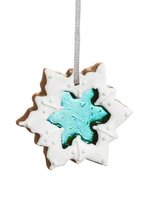 holiday food gifts - gingerbread snowflake