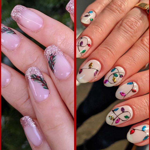 42 Festive Christmas Nail Ideas 2020 Christmas Nail Art Ideas