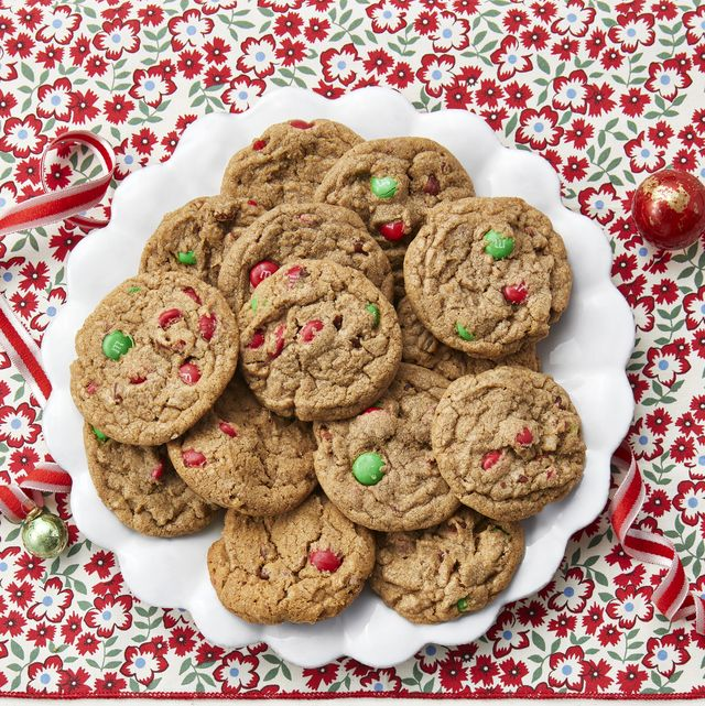 loaded holiday slice and bake cookies