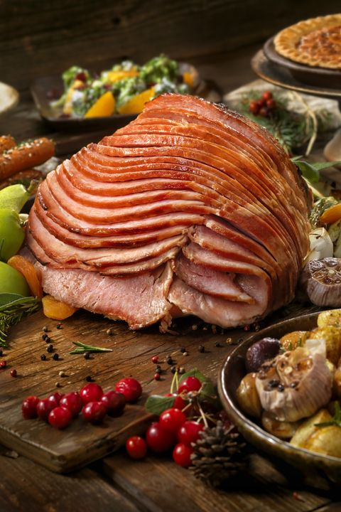 Holiday Spiral Ham Dinner