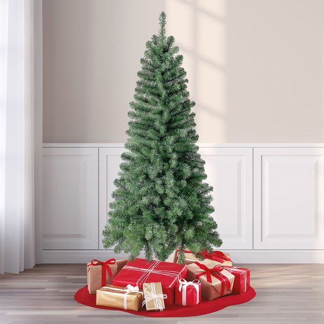 walmart holiday time 6 foot wesley pine artificial christmas tree