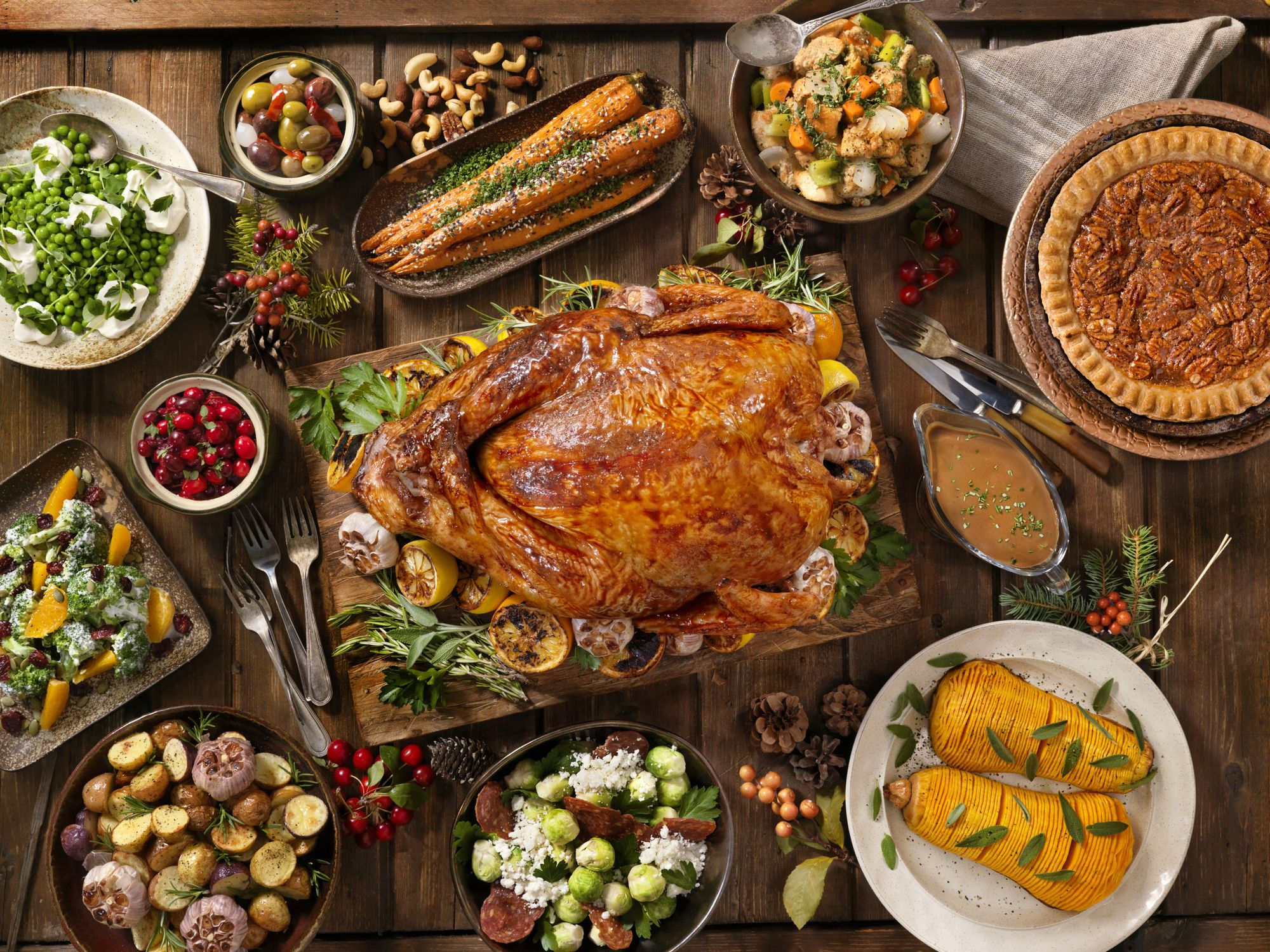 Traditional Thanksgiving Recipes – Dinner For 10 People For Less Than $25!