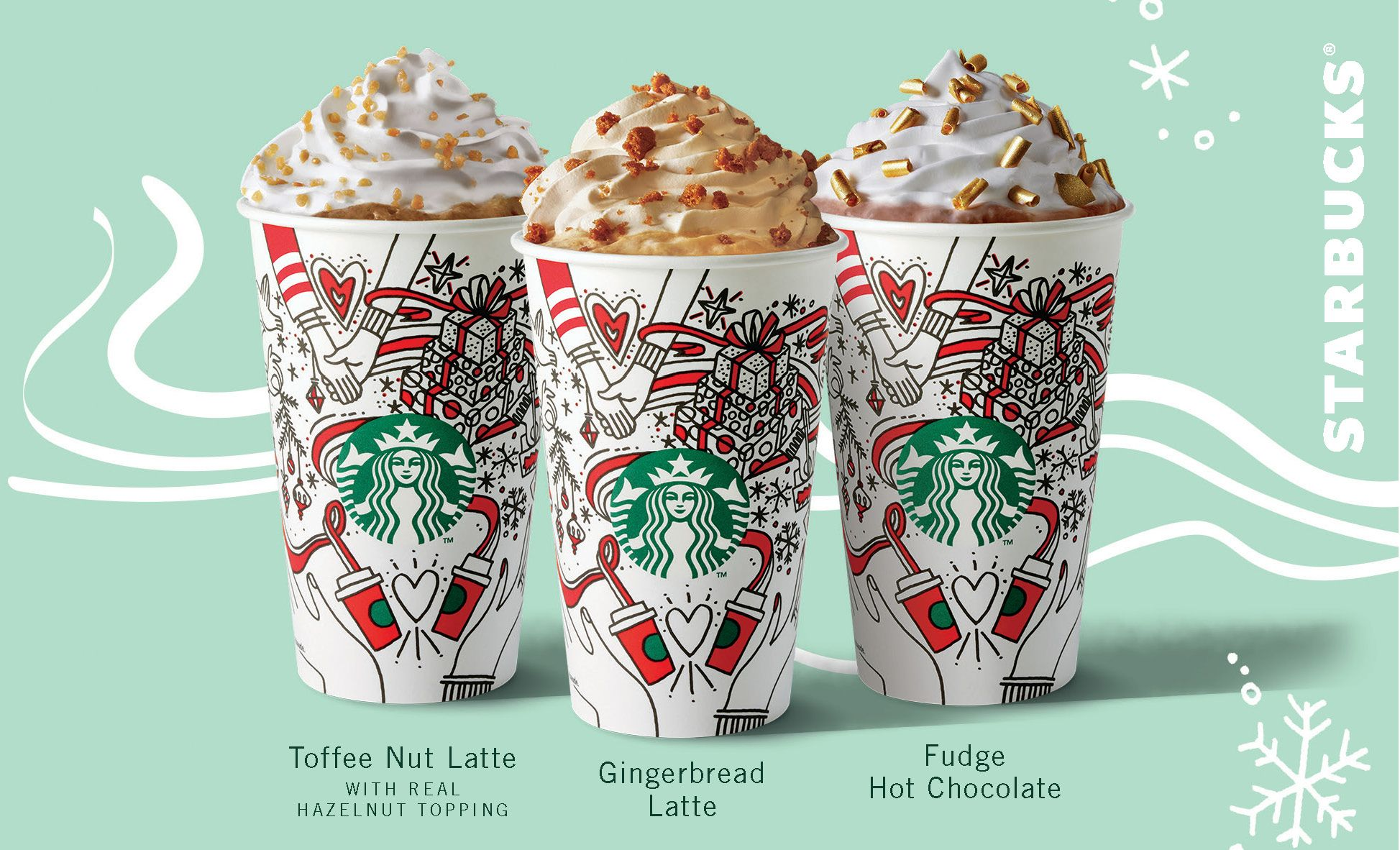 starbucks 2017 christmas menu is here and theres a brand new festive drink
