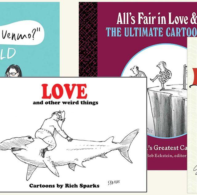 holiday books, art, comics