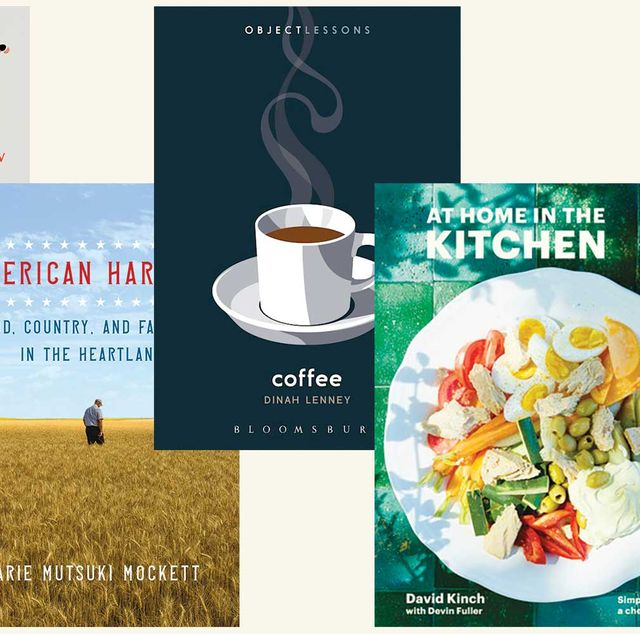 holiday books, nonfiction, food