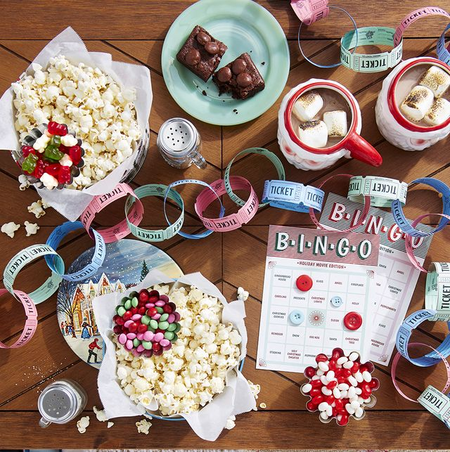 holiday movie printable