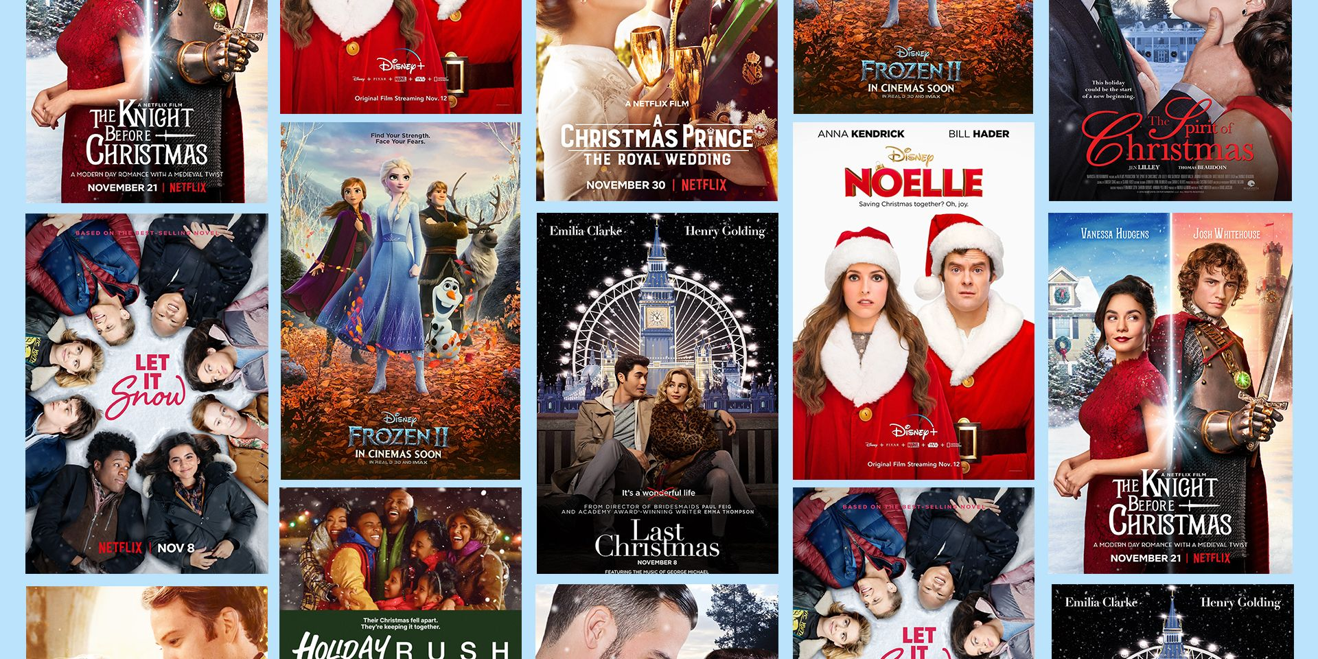 Holiday Movies on Netflix and Theaters 2019 - Christmas Movies Released in  2019
