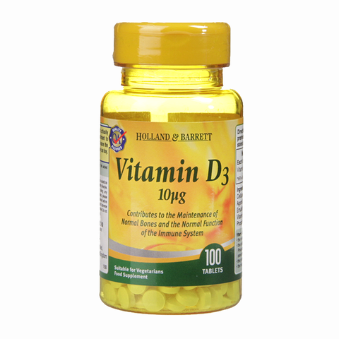 Holland and Barrett Vitamin D