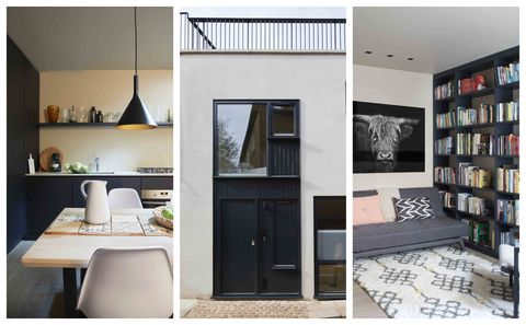 Tiny OneBedroom London Mews House Makes Clever Use Of Small Space Cool One Bedroom House Designs