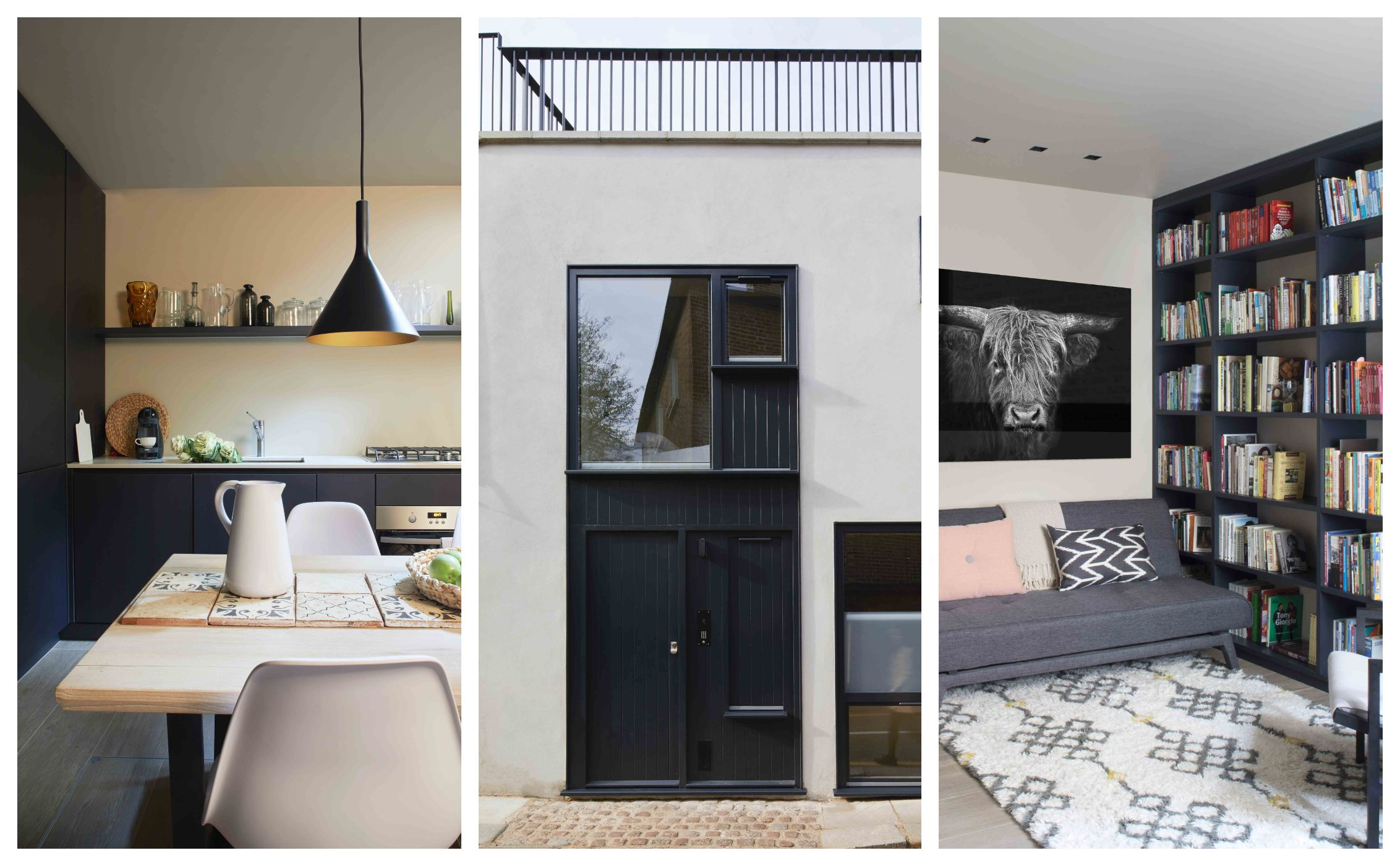 Tiny, Renovated Three Storey, One Bedroom Mews House In Holland Park,