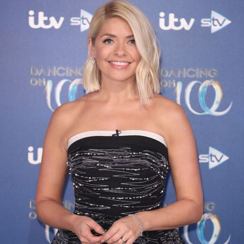 Holly WIlloughby Dancing on Ice 2020 launch