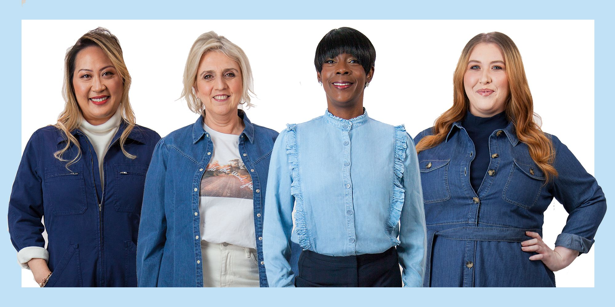 Holly Willoughby M&S denim edit