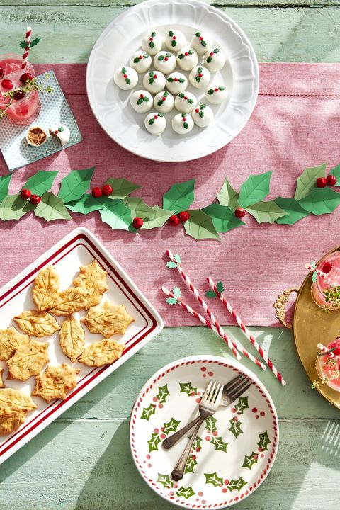 Holly Inspired Christmas Party Ideas