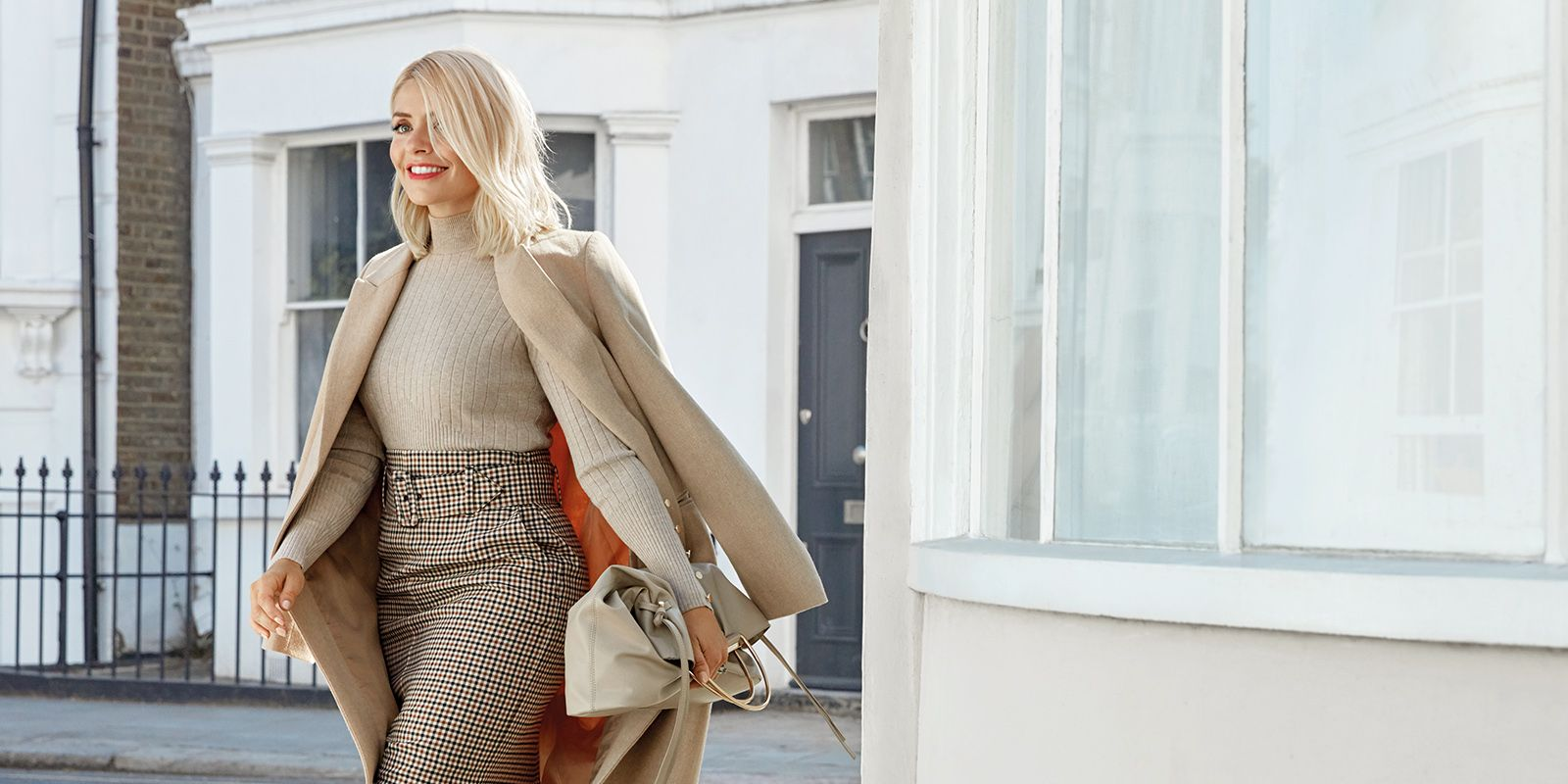 Holly Willoughby Marks & Spencer Winter edit