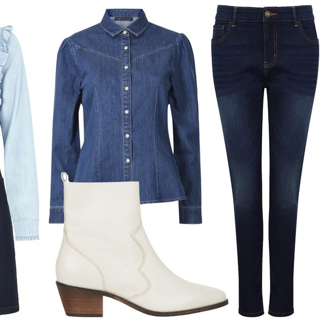 marks & Spencer holly willoughby denim collection