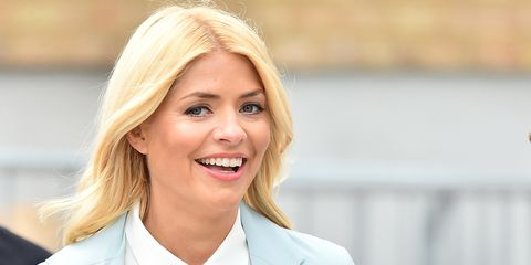 Holly Willoughby wedding guest dress