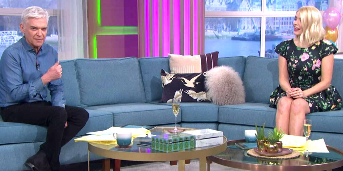This Morning's Holly Willoughby and Phillip Schofield explain why they still can't hug