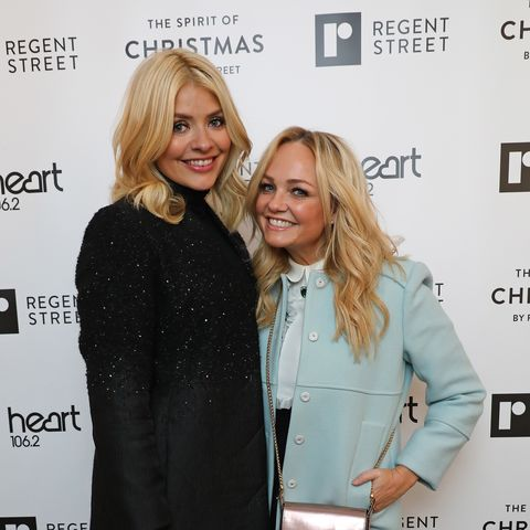 Stars turn out for Emma Bunton's girly surprise birthday