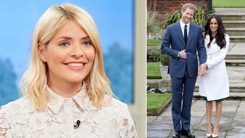 Holly Willoughby and Harry/Meghan