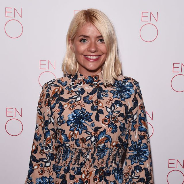 holly willoughby emerald green ghost christmas dress