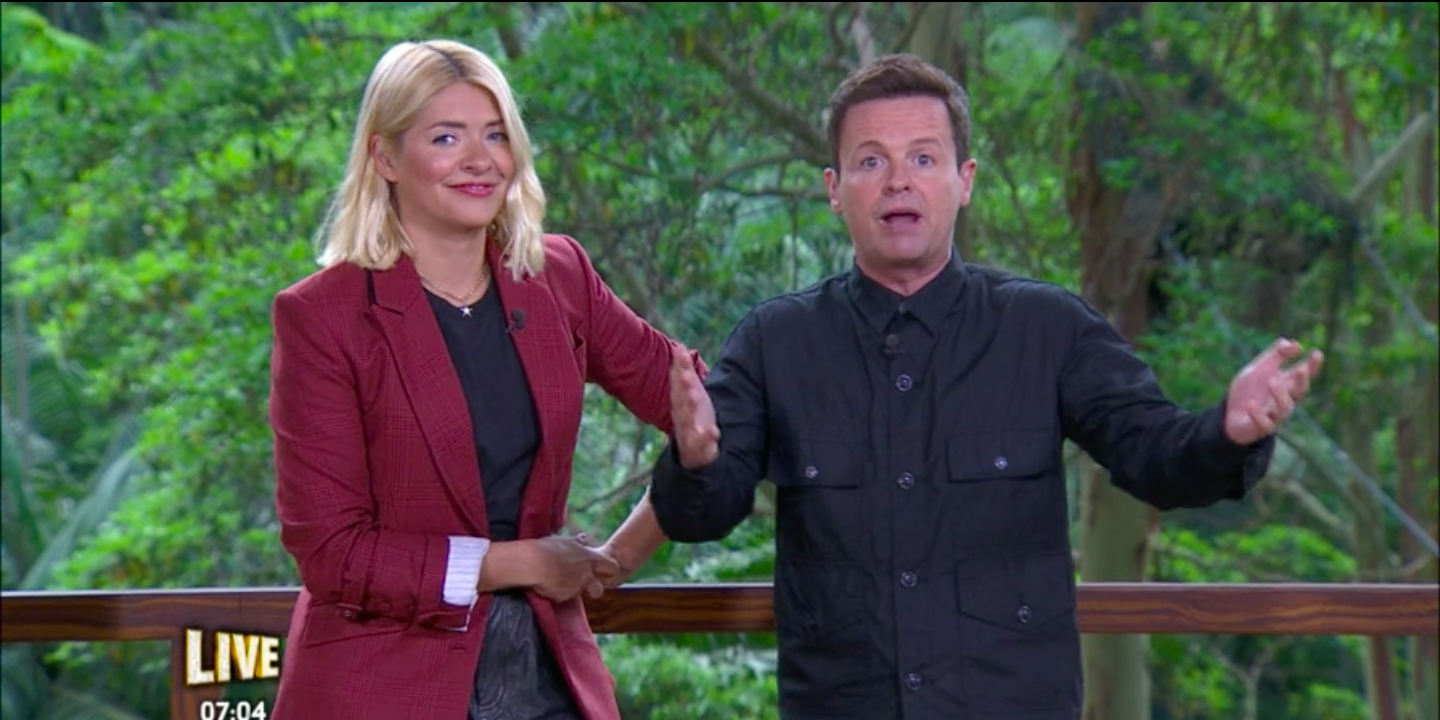 Holly Willoughby and Dec Donnelly on I'm A Celebrity