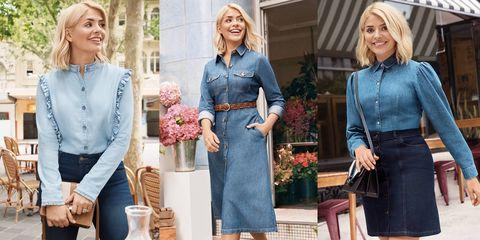 Marks & Spencer Holly Willoughby denim edit