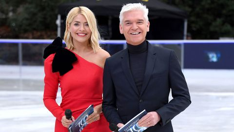 Holly Willoughby, Phillip Schofield, Dancing on Ice press launch