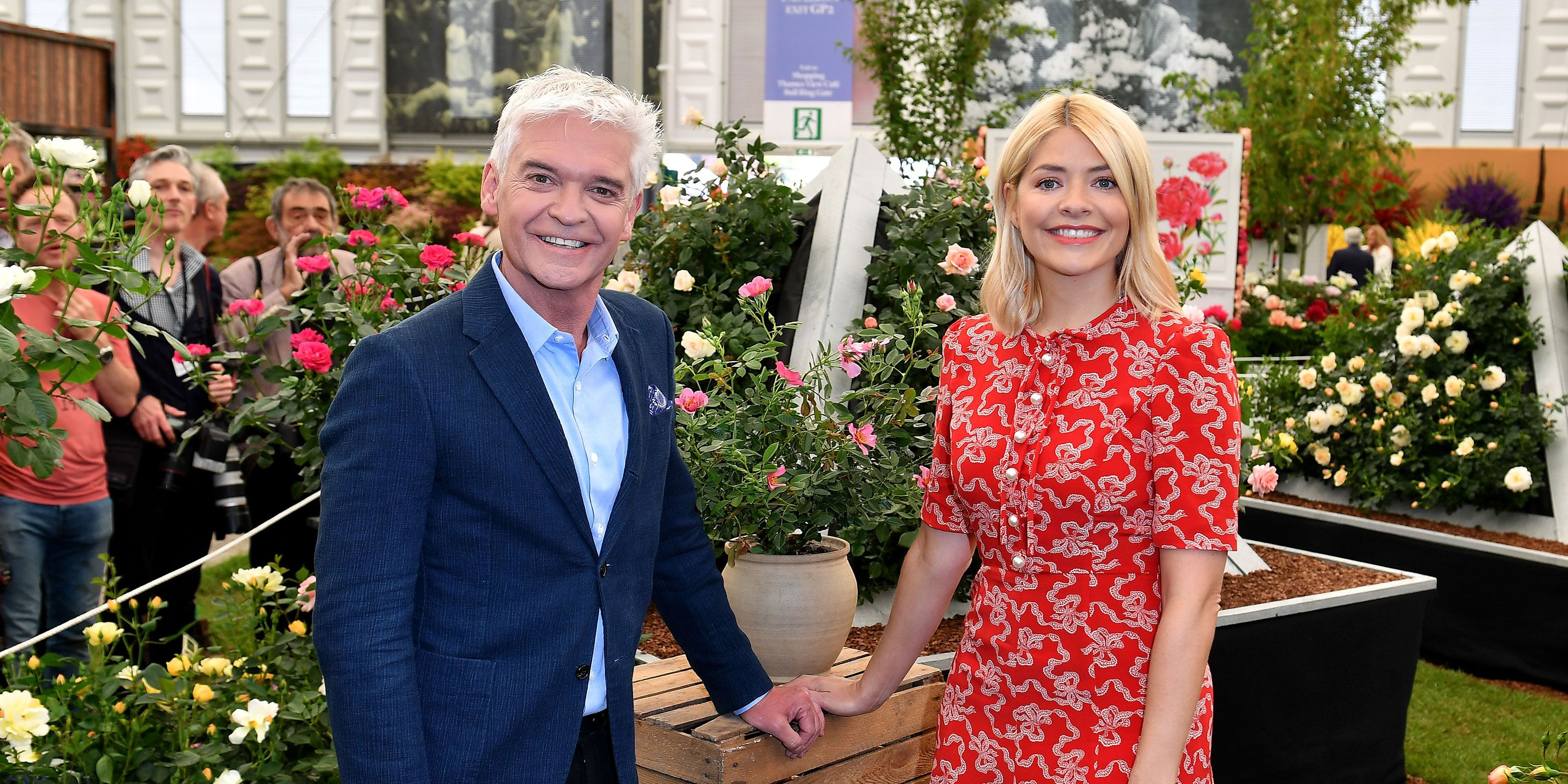 Holly Willoughby Phillip Schofield holiday together