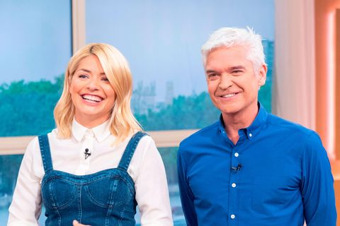 Holly Willoughby, hair, transformation,This Morning
