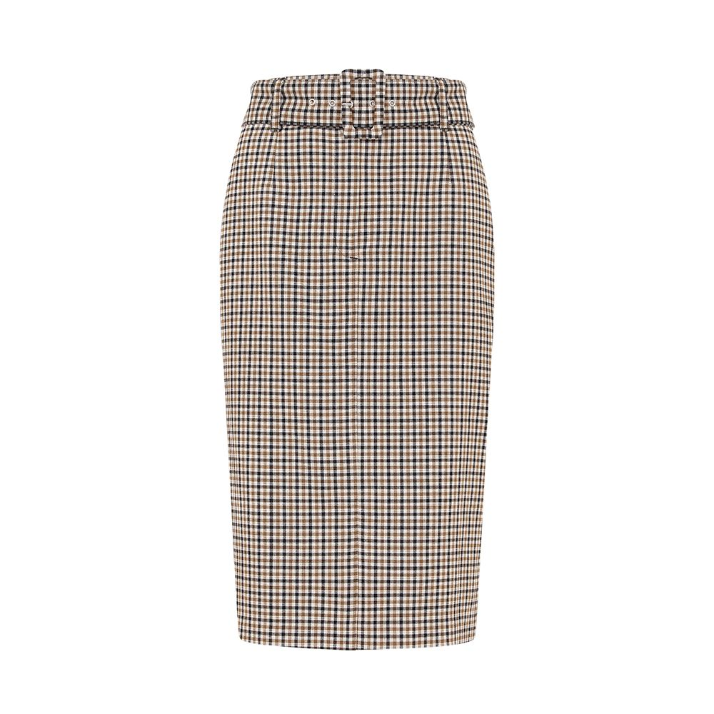 prima best bargains -holly willoughby m&s check skirt