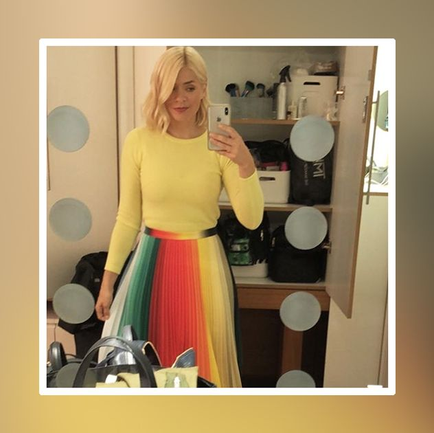 4369c480114b Holly Willoughby's outfits - where to buy her clothes
