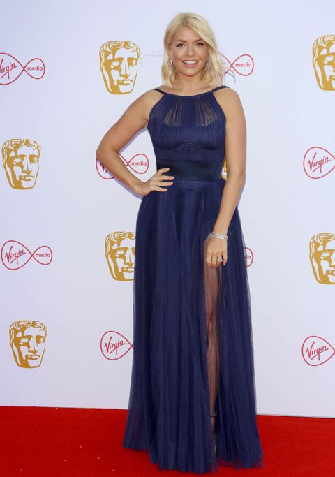 holly willoughby stripe monsoon dress