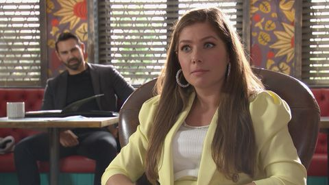 brad king and maxine minniver in hollyoaks