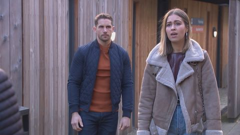 brody hudson and summer ranger in hollyoaks